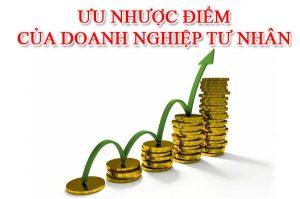 ưu và nhược điểm của doanh nghiệp tư nhân