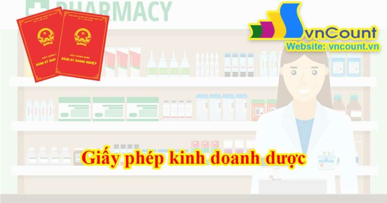giấy phép kinh doanh dược