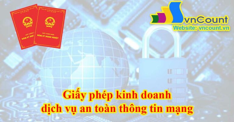 giấy phép kinh doanh dịch vụ an toàn thông tin mạng