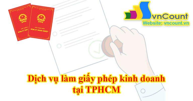 giấy phép kinh doanh tại tphcm