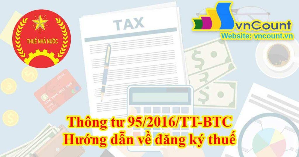 hướng dẫn về đăng kí thuế