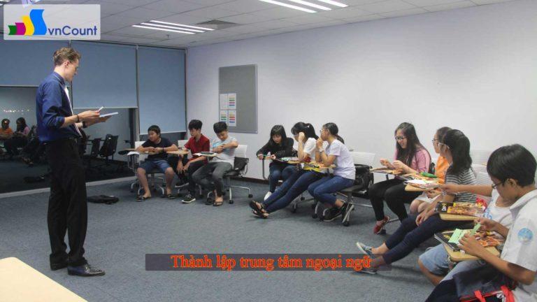 đề án thành lập trung tâm ngoại ngữ
