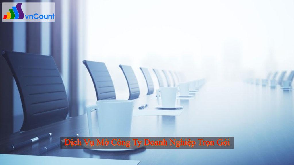 dịch vụ mở công ty doanh nghiệp trọn gói