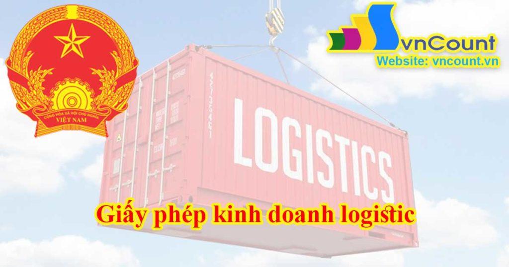 Giấy phép kinh doanh logistic