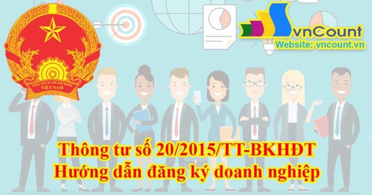 hướng dẫn đăng ký doanh nghiệp