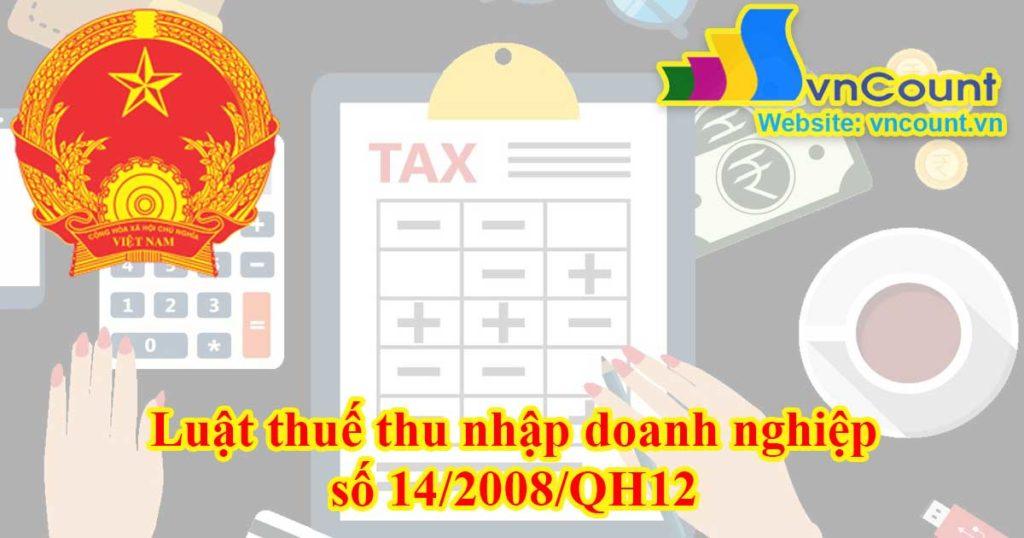 luật thuế thu nhập doanh nghiệp
