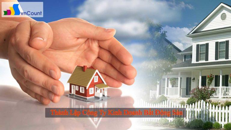 thành lập công ty bất động sản