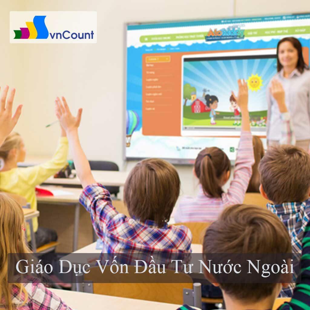 cơ sơ giáo dục vốn đầu tư nước ngoài