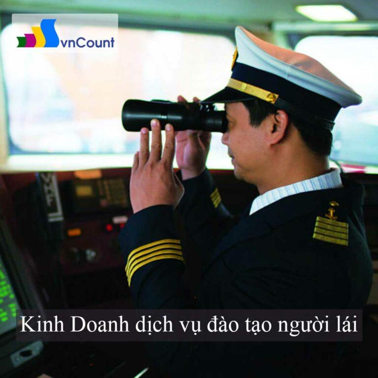 dịch vụ đào tạo người lái thủy nội địa