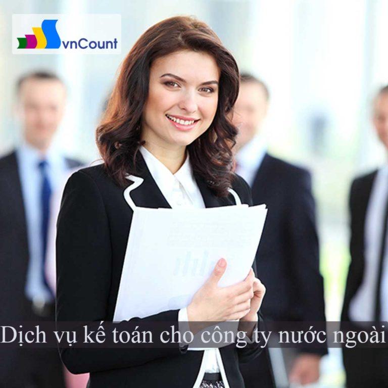 dịch vụ kế toán cho công ty nước ngoài