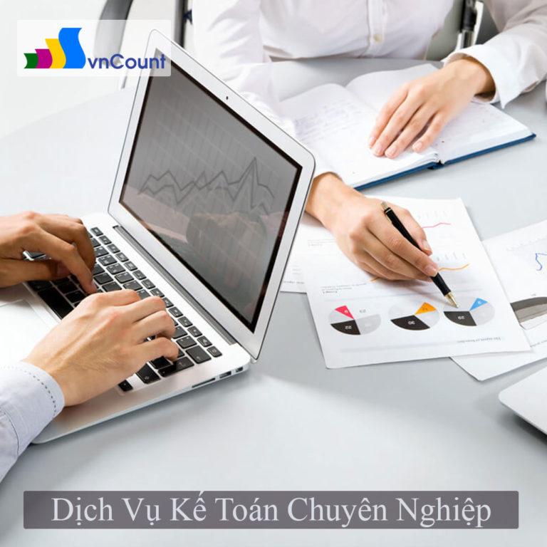 dịch vụ kế toán chuyên nghiệp