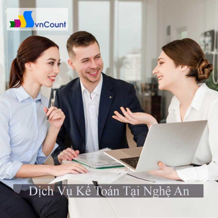 dịch vụ kế toán tại nghệ an