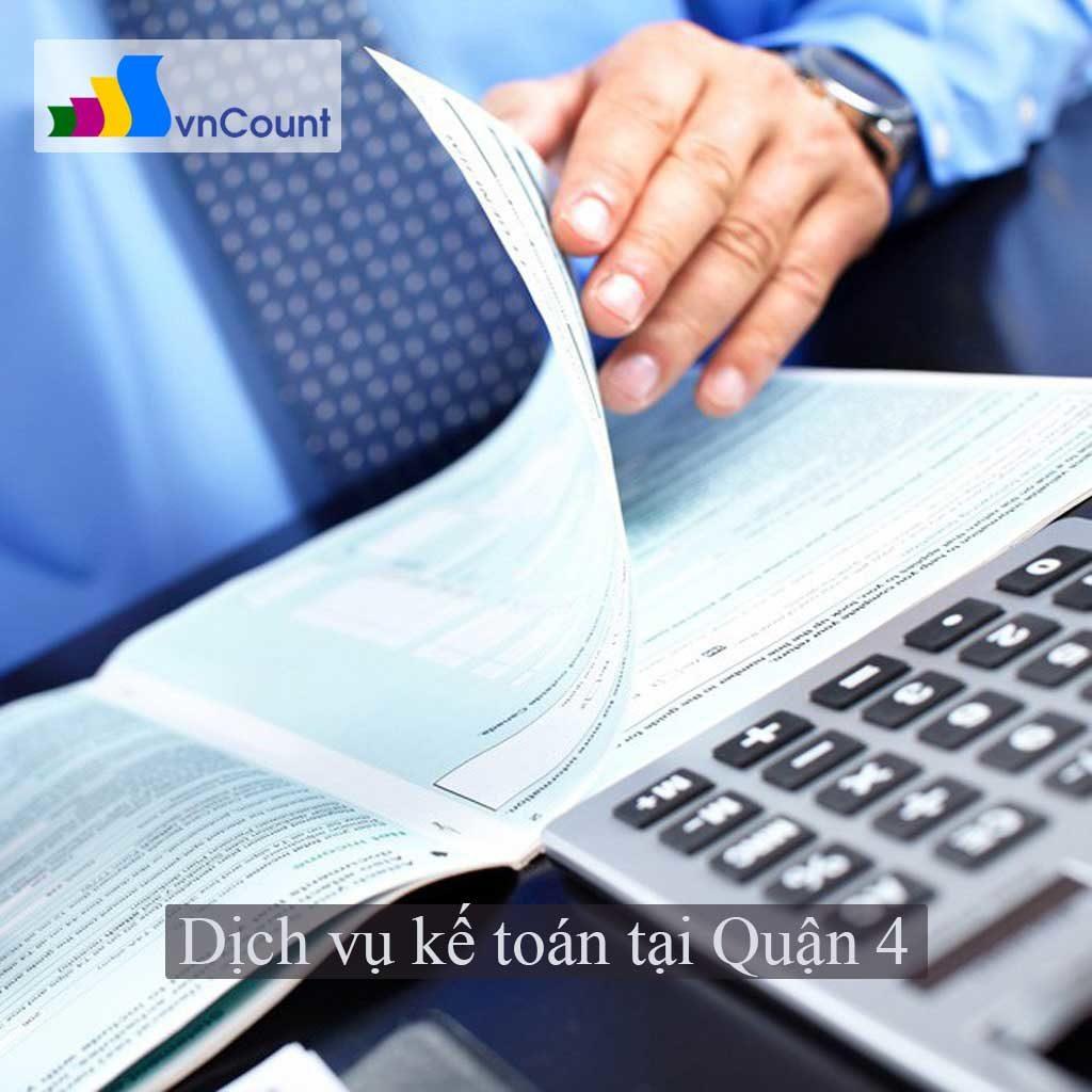 dịch vụ kế toán tại quận 4