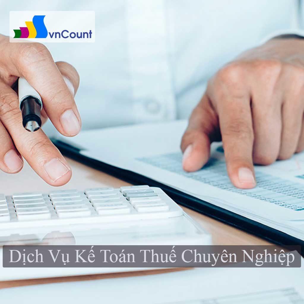 dịch vụ kế toán thuế chuyên nghiệp