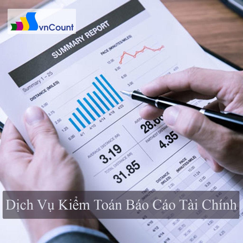 dịch vụ kiểm toán báo cáo tài chính
