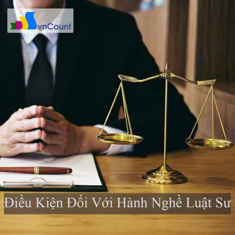 hành nghề luật sư