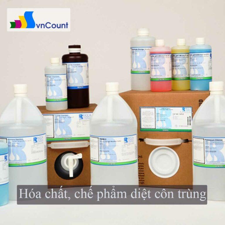 hóa chất, chế phẩm diệt côn trùng