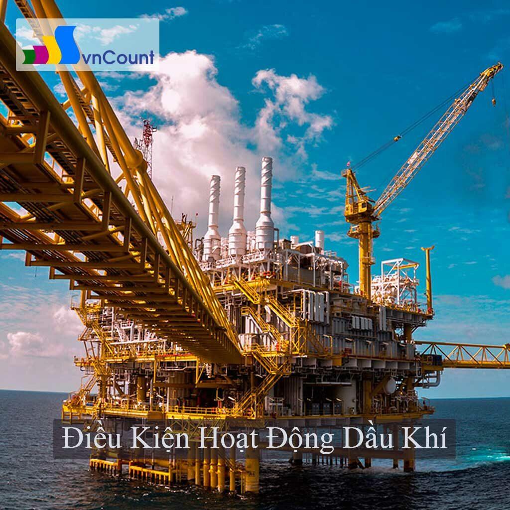 hoạt động dầu khí