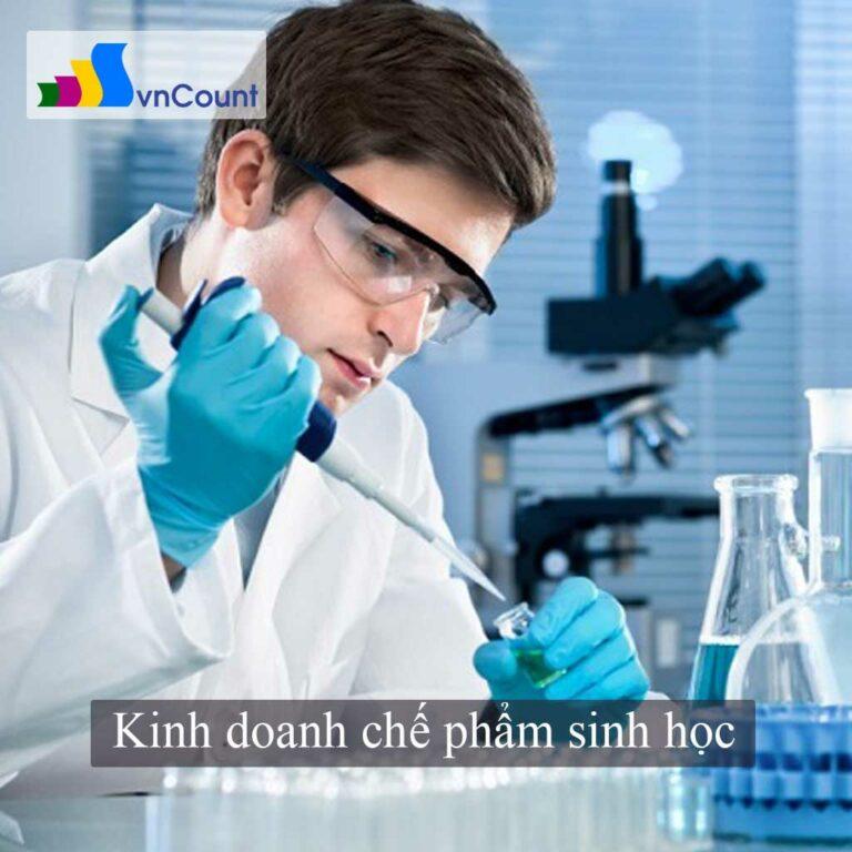 kinh doanh chế phẩm sinh học