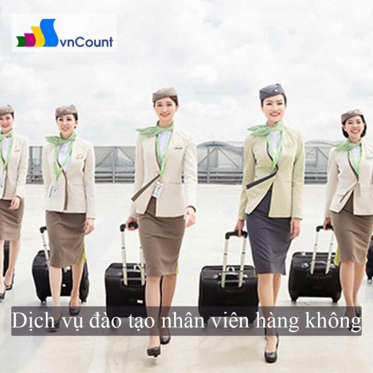 kinh doanh dịch vụ đào tạo nhân viên hàng không