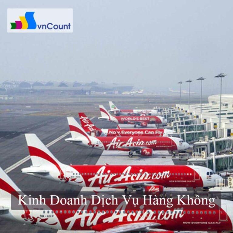 kinh doanh dịch vụ hàng không