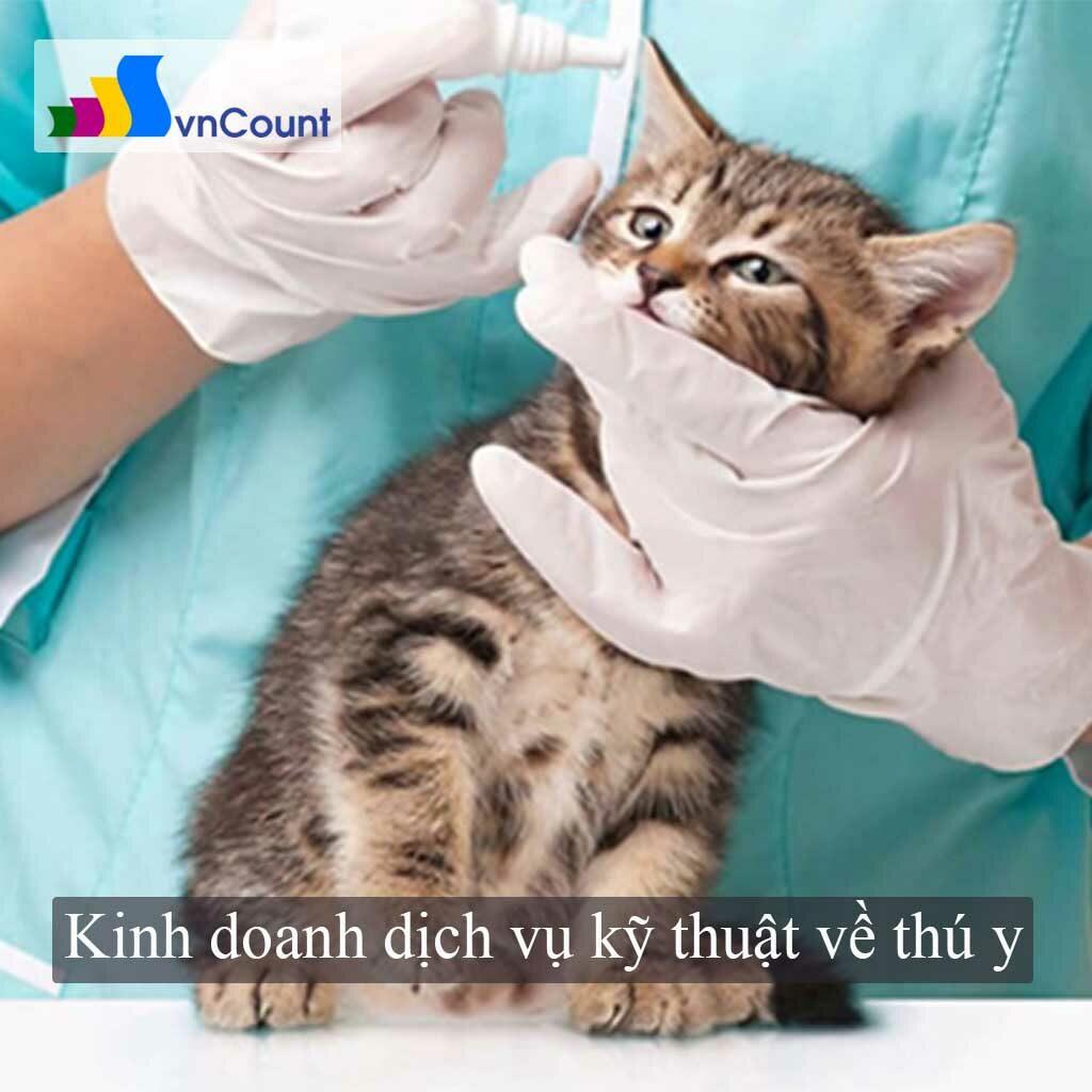 kinh doanh dịch vụ kỹ thuật về thú y