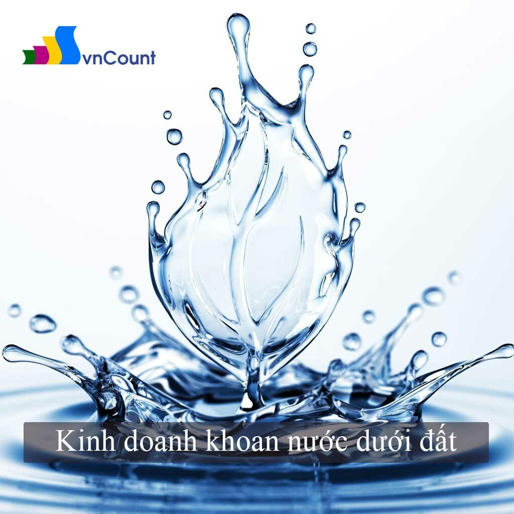 kinh doanh dịch vụ khoan nước dưới đất