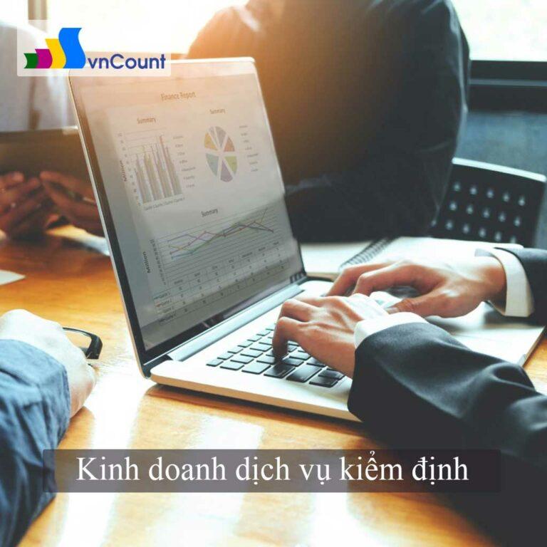 kinh doanh dịch vụ kiểm định