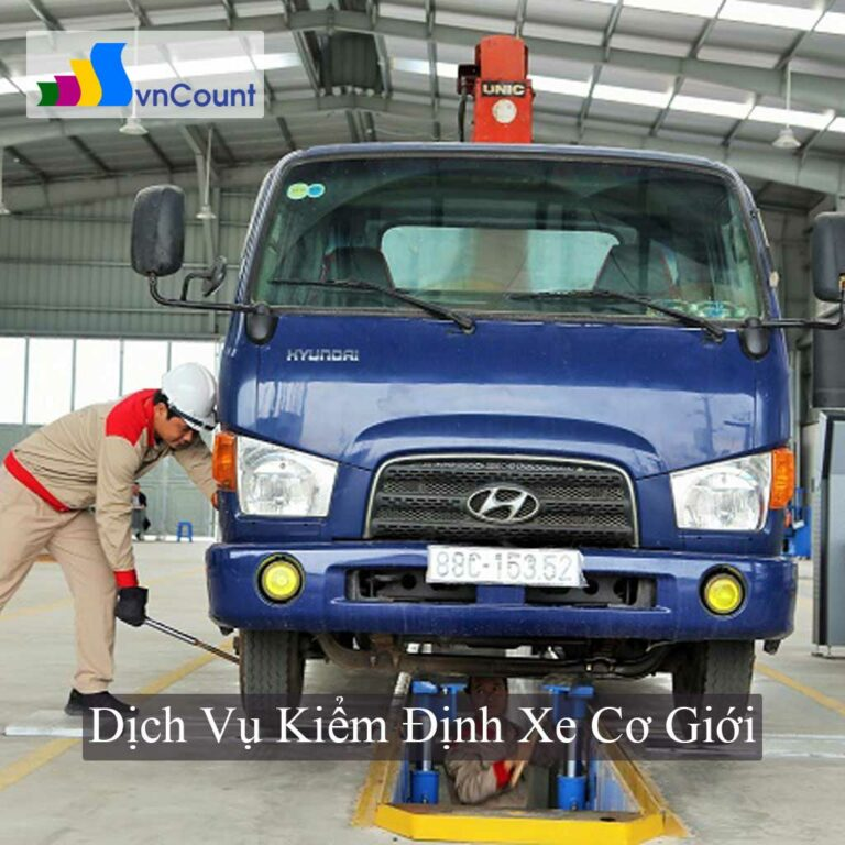 kinh doanh dịch vụ kiểm định xe cơ giới