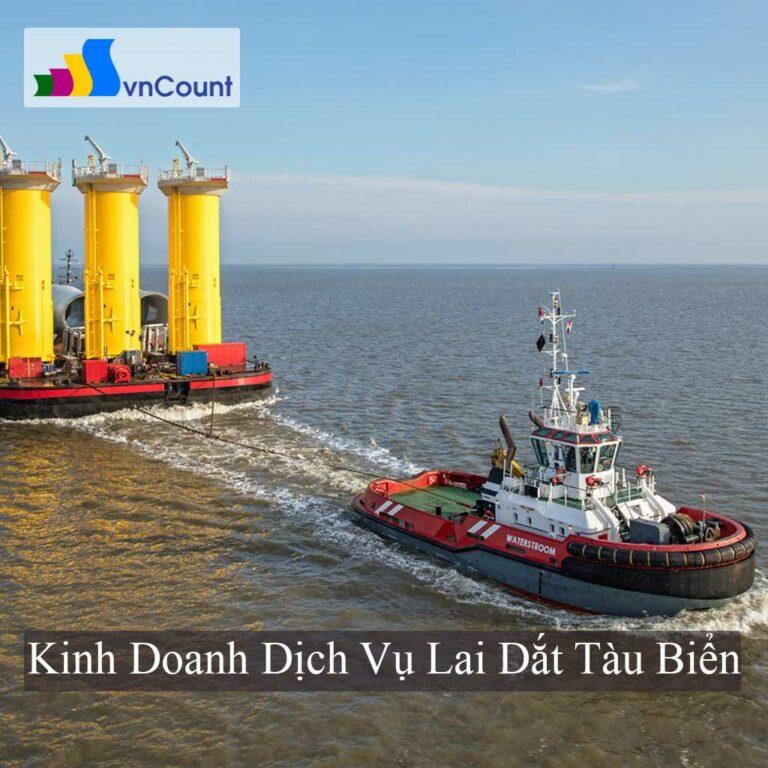 kinh doanh dịch vụ lai dắt tàu biển
