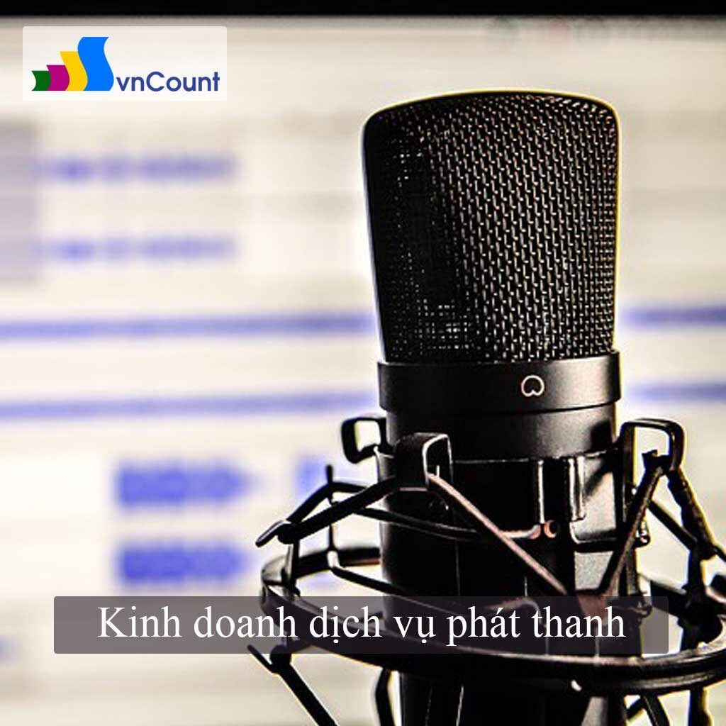 kinh doanh dịch vụ phát thanh
