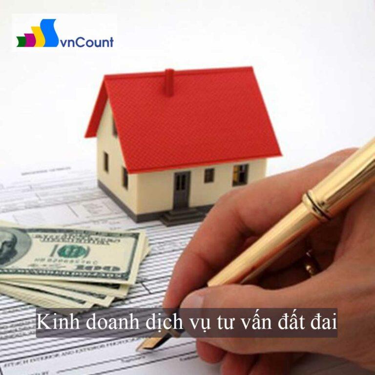 kinh doanh dịch vụ tư vấn đất đai