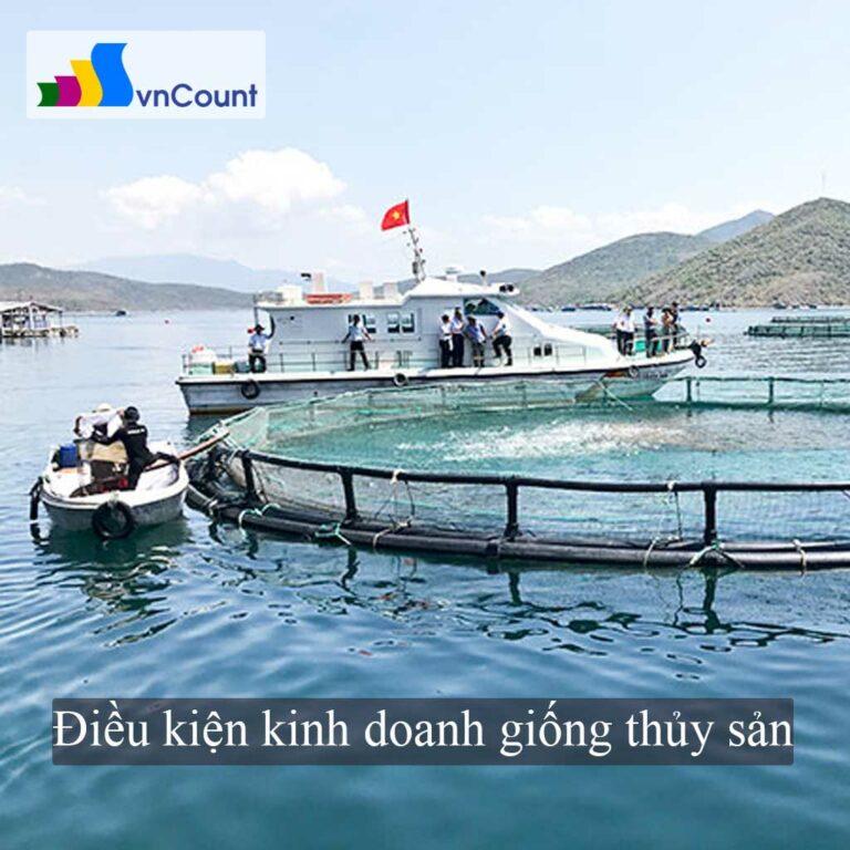 kinh doanh dịch vụ trong nuôi trồng thủy sản