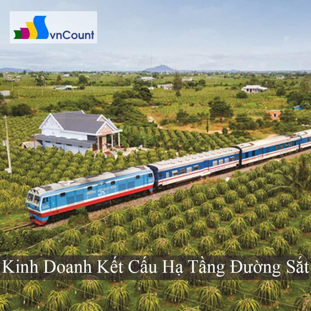 kinh doanh kết cấu hạ tầng đường sắt