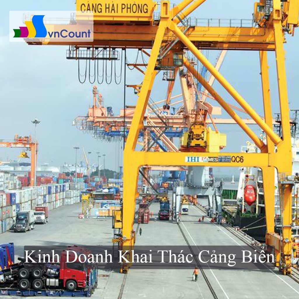 kinh doanh khai thác cảng biển