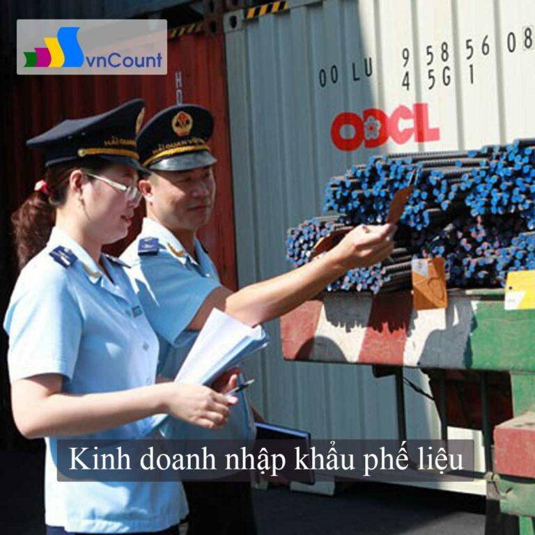 kinh doanh nhập khẩu phế liệu