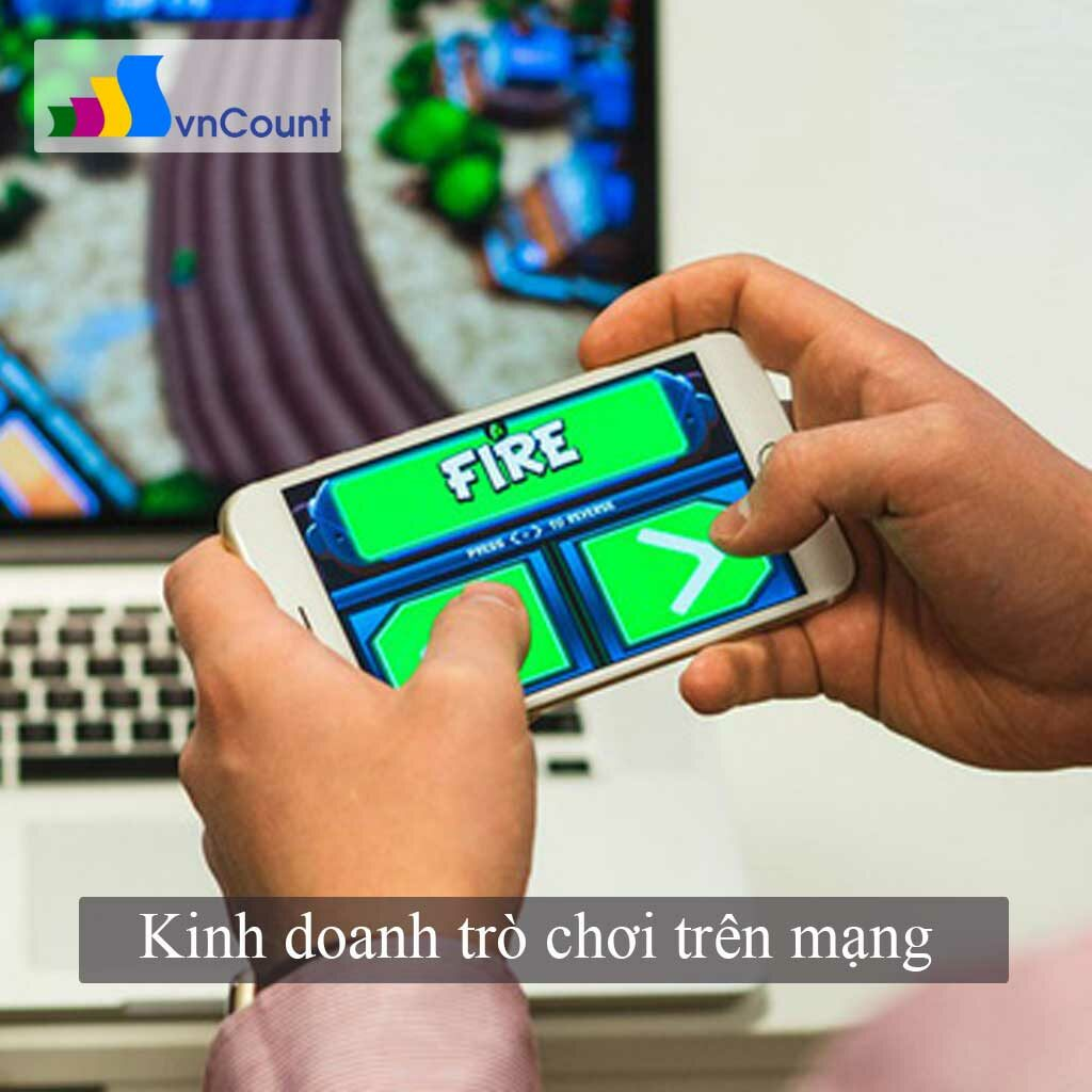 kinh doanh trò chơi trên mạng