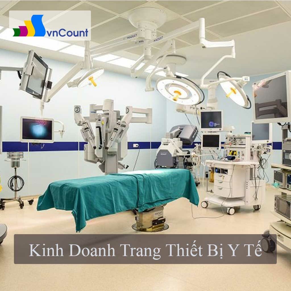 kinh doanh trang thiết bị y tế