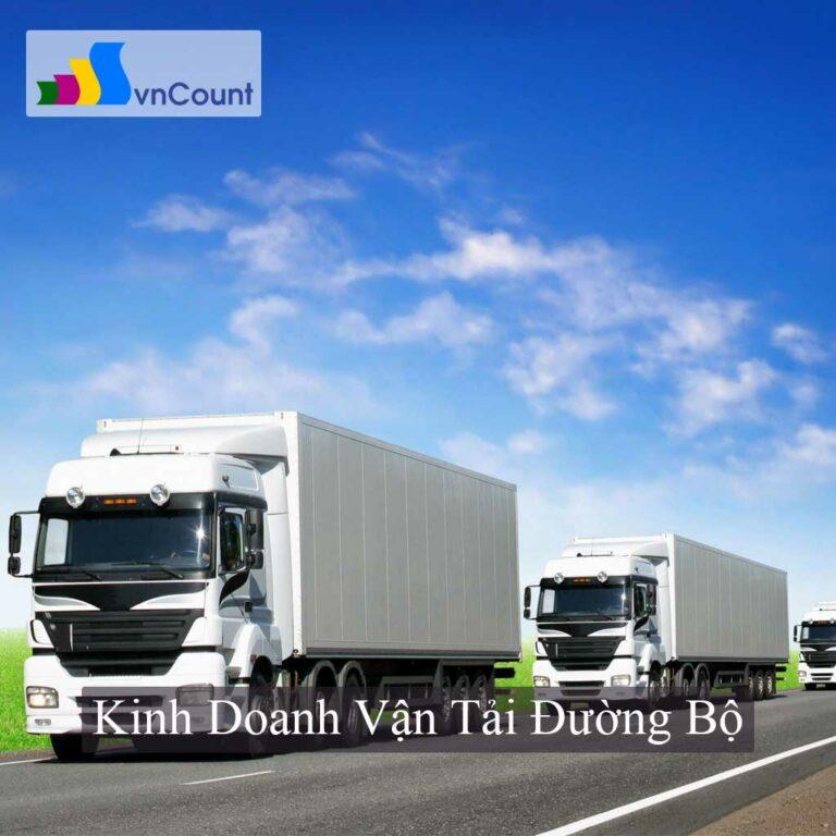 kinh doanh vận tải đường bộ