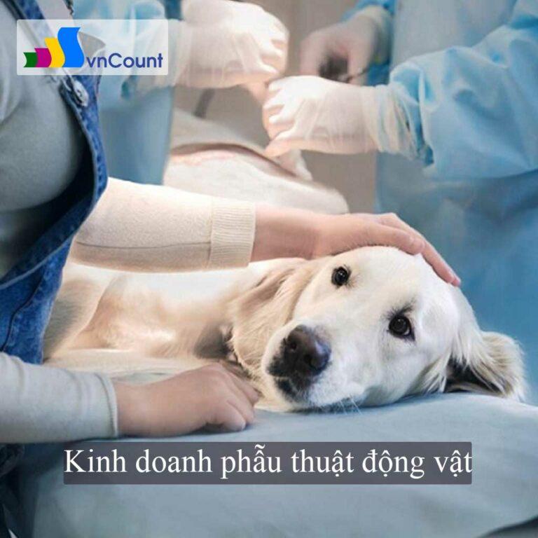 kinh doanh xét nghiệm phẫu thuật động vật