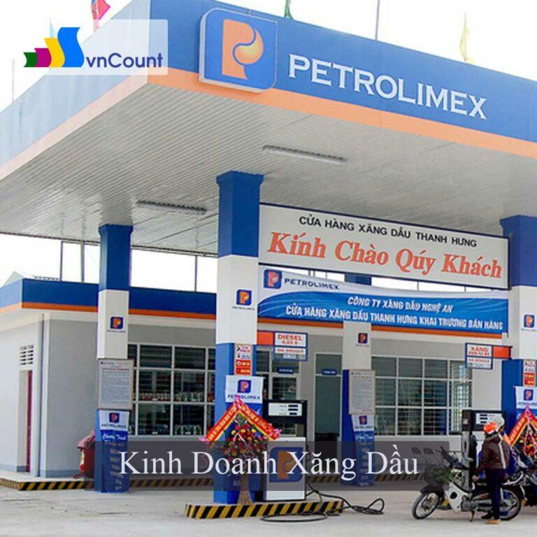 kinh doanh xăng dầu