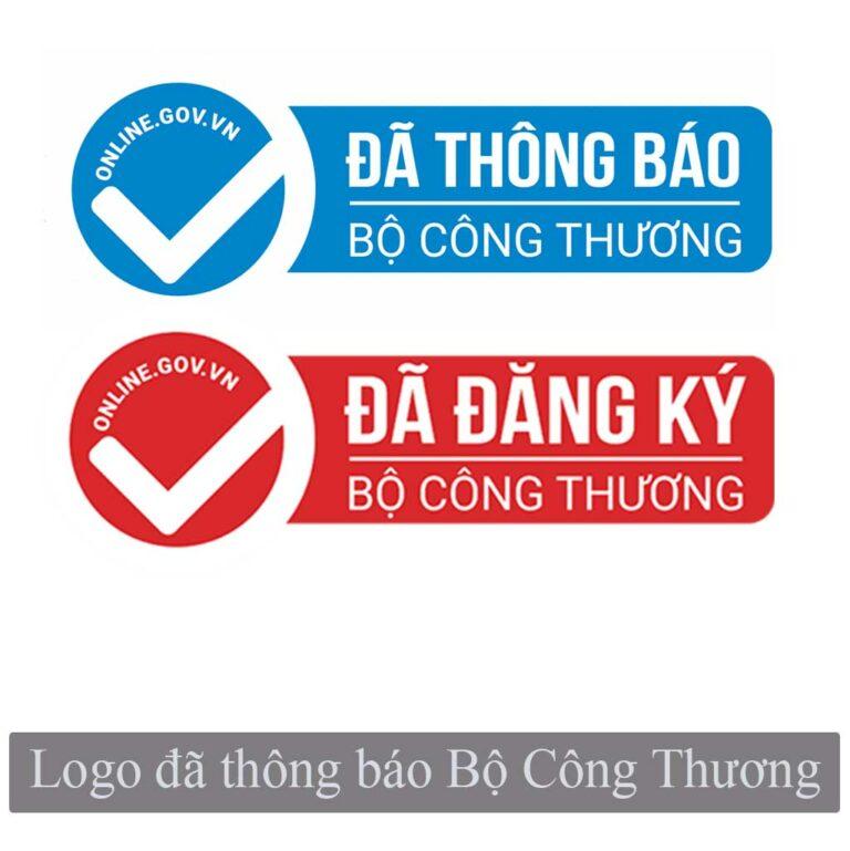 logo đã thông báo với bộ công thương
