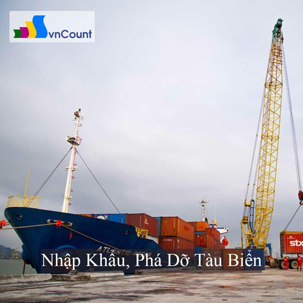 nhập khẩu phá dỡ tàu biển