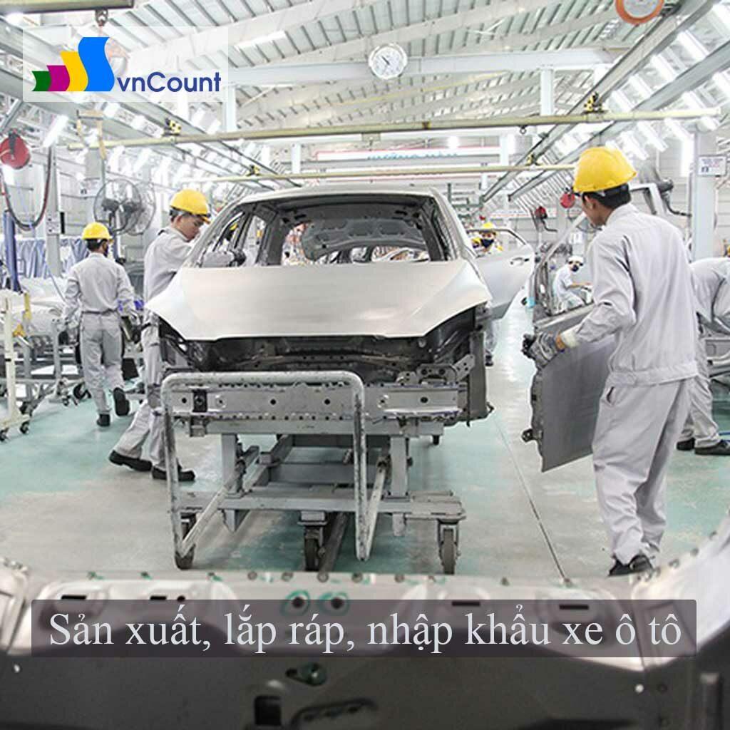 sản xuất lắp ráp ô tô