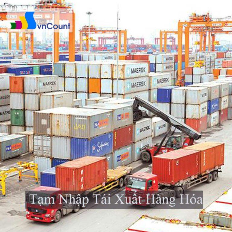 tạm nhập tái xuất hàng hóa đã qua sử dụng