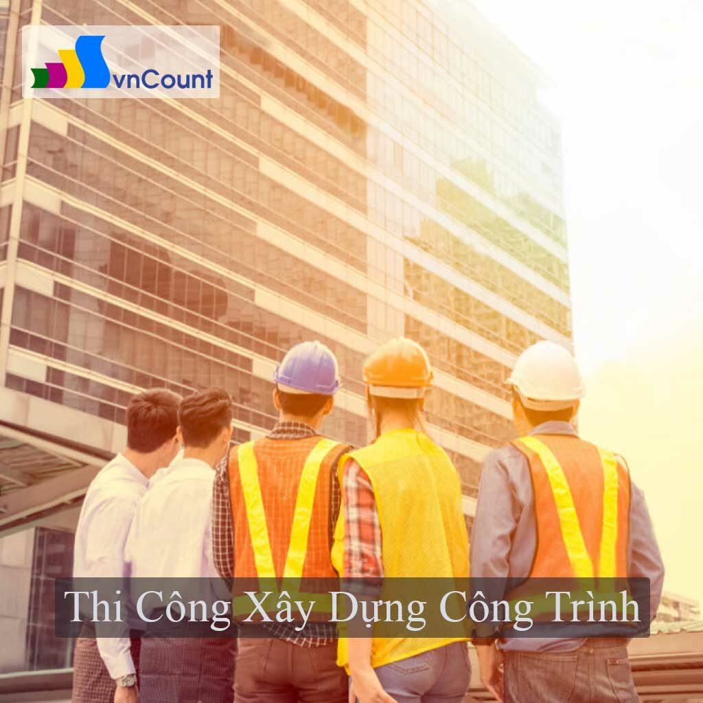 tổ chức thi công xây dựng công trình