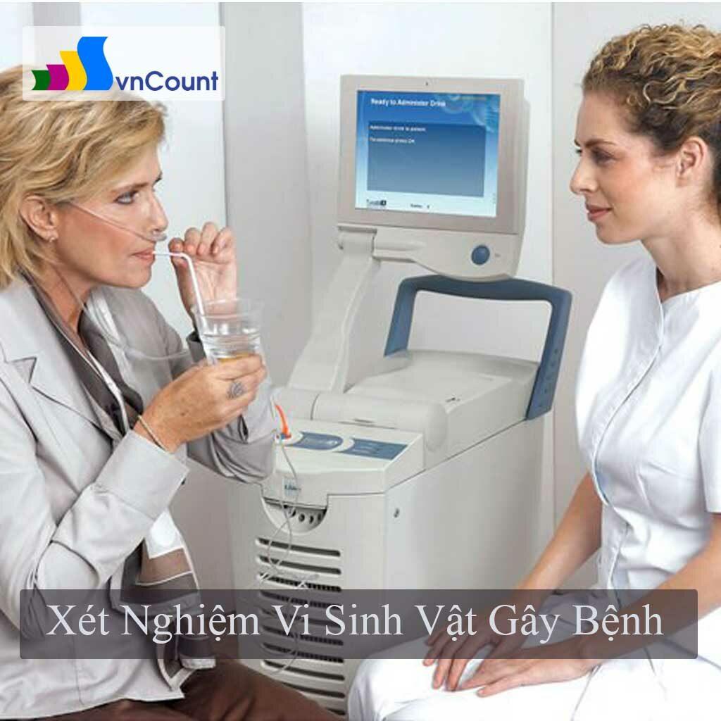 xét nghiệm vi sinh vật gây bệnh truyền nhiễm