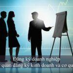 đăng ký doanh nghiệp giữa cơ quan đăng ký kinh doanh và cơ quan thuế