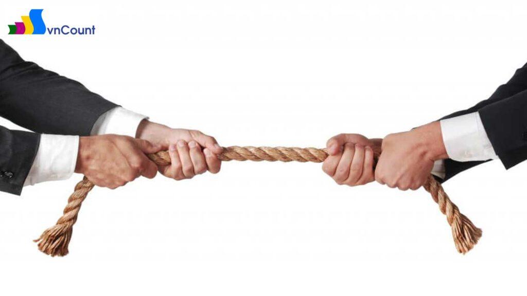 chia và tách doanh nghiệp