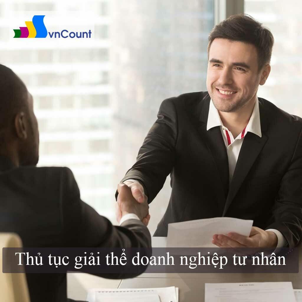 giải thể doanh nghiệp tư nhân